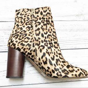 5ba12c28fc82 Sam Edelman Shoes - Sam Edelman Corra Stacked Heel Bootie Leopard